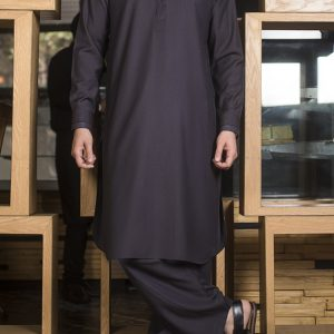 BROWN  SHALWAR SUIT BY MEOSONS