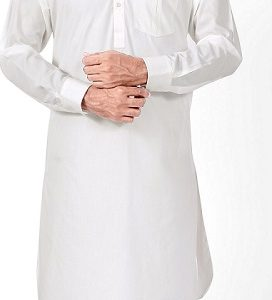 OFF WHITE SHALWAR SUIT BY MEOSONS