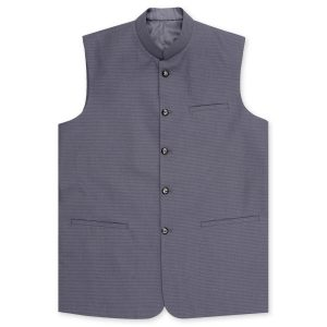 Tropical Grey waistcoat by MeoSons