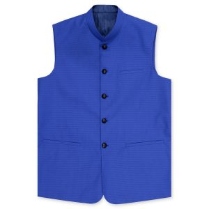 Tropical Blue waistcoat by MeoSons