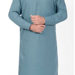 Green Shalwar Suit by MeoSons